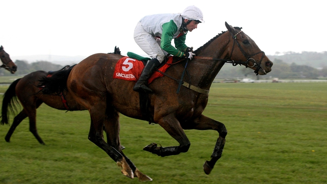 Peter Maher expects big things from Big Shu at Aintree