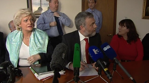 SIPTU's decision was reached after a meeting at Liberty Hall this afternoon
