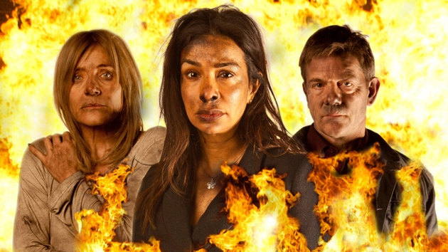 Who will survive the blaze in the Rovers?