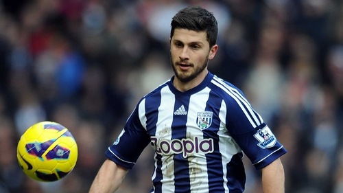 Shane Long has been suffering from a knee injury