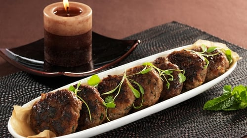 Lamb Patties with Lebanese Spices