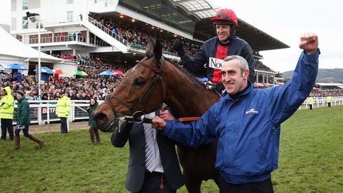 Bobs Worth landed chasing's blue riband at Cheltenham