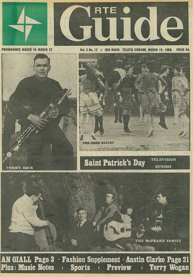 <br /> RT&Eacute; Guide 1968