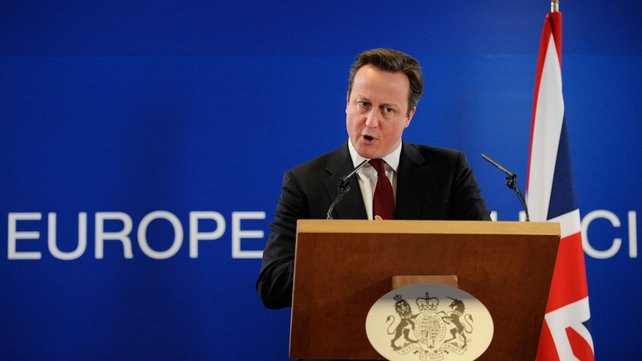 David Cameron said Britain was prepared to act unilaterally