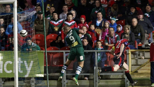 Owen Heary was on target for Bohs as they lost 2-1 to Cork City