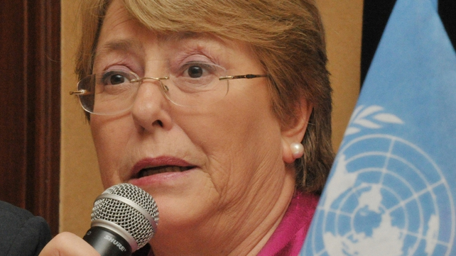 "Head of UN Women Michelle Bachelet said: ""People worldwide expected action, and we didn't fail them."""