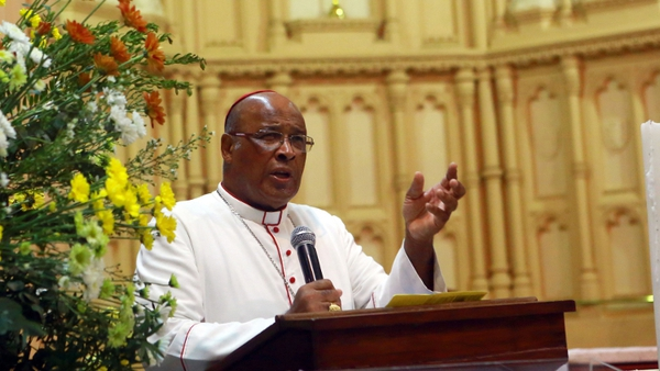Archbishop Wilfrid Fox Napier made remarks on paedophilia during a BBC interview