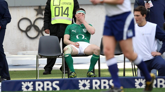 Brian O'Driscoll was sent to the sin bin in the first half