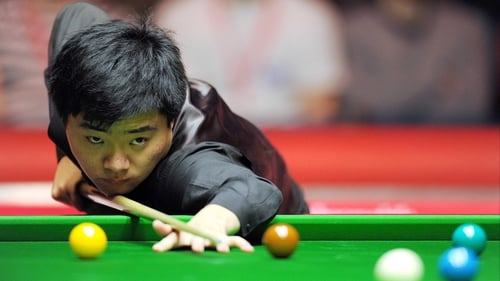 Ding Junhui recorded the fifth maximum of his career