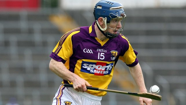 Wexford's Rory Jacob scored a goal early in the second half