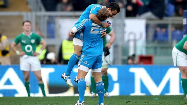 Italy beat Ireland