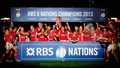 Wales demolish England to win Six Nations title