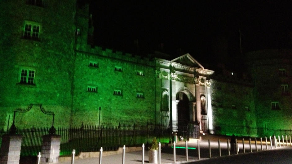 Aisling Doyle was at Kilkenny Castle