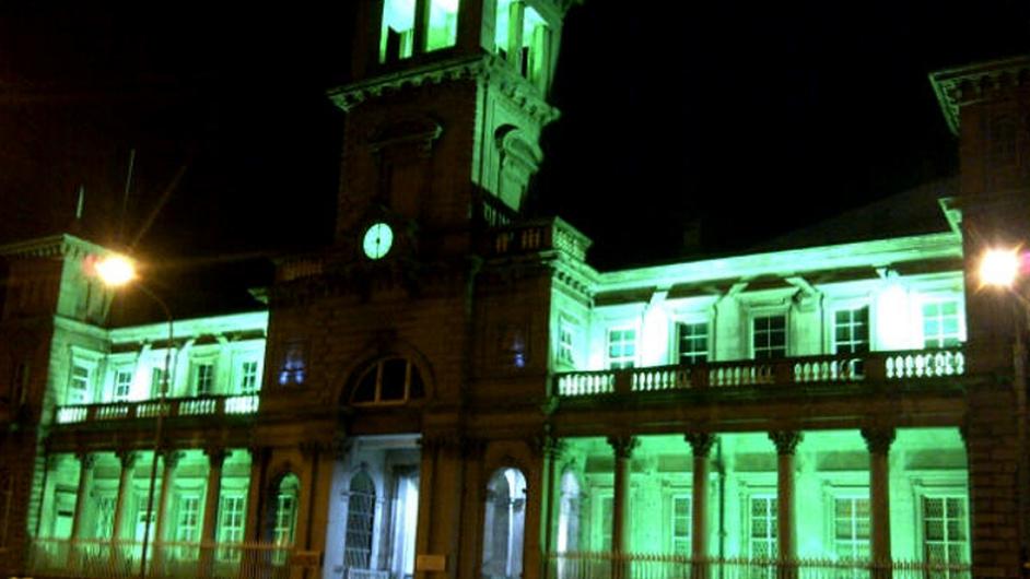 Iarnród Éireann turns Connolly Station green
