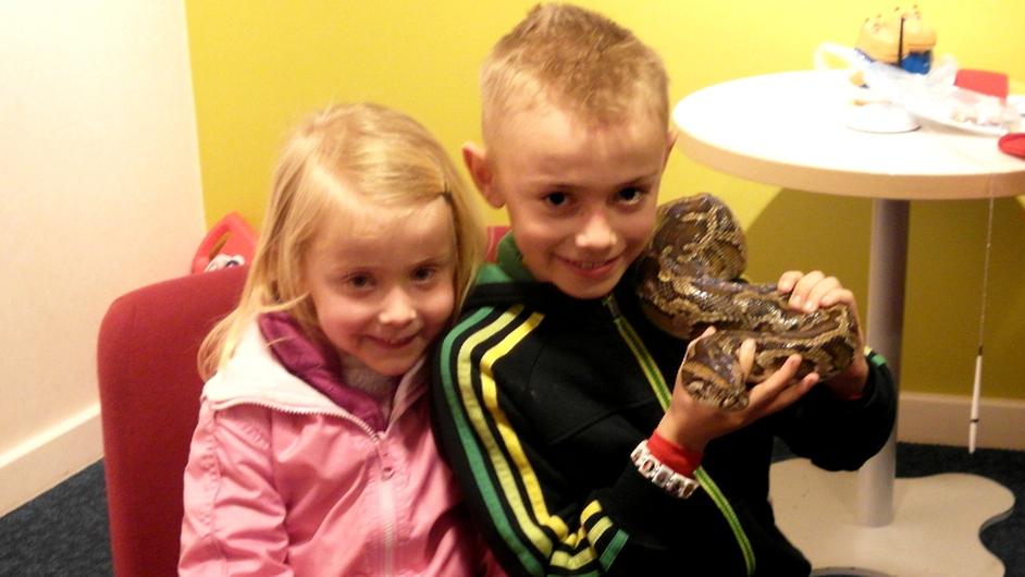 Elaine Frances Ledwidge sends a picture of the snake St Patrick left behind