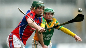 The Galway champions emerged victorious in a game played in tricky underfoot conditions