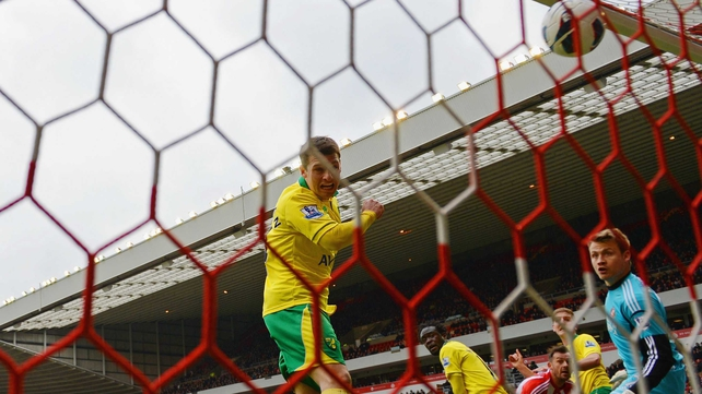 Wes Hoolahan put the Canaries in front