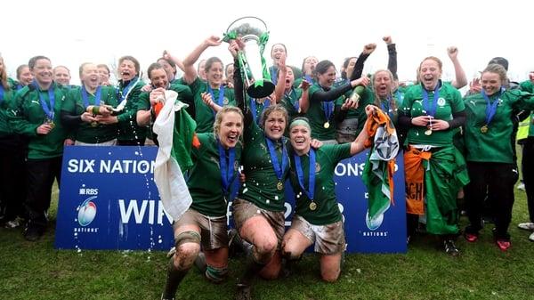 Ireland are the Grand Slam champions