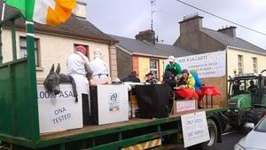There was a current theme to one of the floats in Headford, Co Galway (Pic: Rosie Mahon)