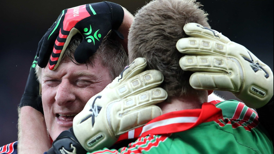 Goalkeeper Shane Curran was close to tears at the final whistle