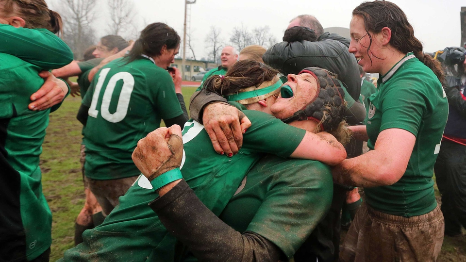 In March, Ireland's women's rugby team won their first Grand Slam title