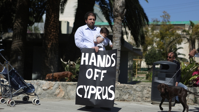 The immediate focus will be on whether large amounts of funds are withdrawn from Cyprus this week