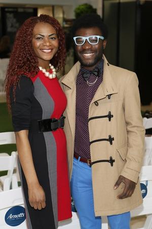 Cynthia Baloula and Timi Ogunyemi