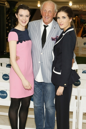 Claire Mc D, Paul Costello and Hannah Devane