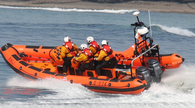 The Bundoran RNLI lifeboat was tasked by Malin Head Coast Guard to attend the scene