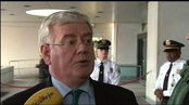 Tánaiste Eamon Gilmore welcomes Mary Robinson's appointment