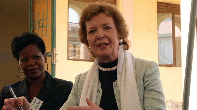 All UNSC members supported Mary Robinson's candidacy