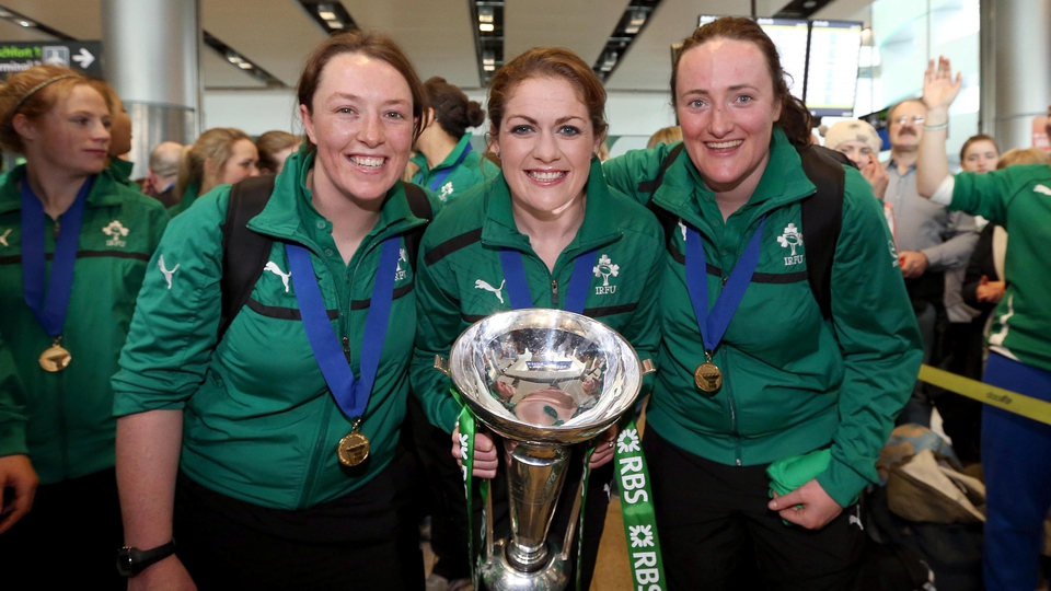 Ailis Egan, Fiona Coghlan and Gillian Bourke