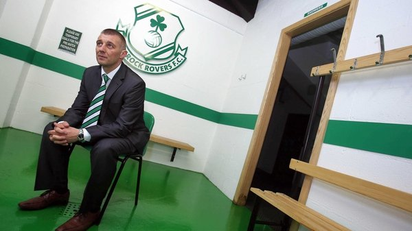 Trevor Croly's maiden league campaign as manager of Shamrock Rovers is not going as he would have imagined