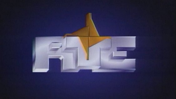 The RTÉ symbol introduced in 1987 the 25th anniversary of television.