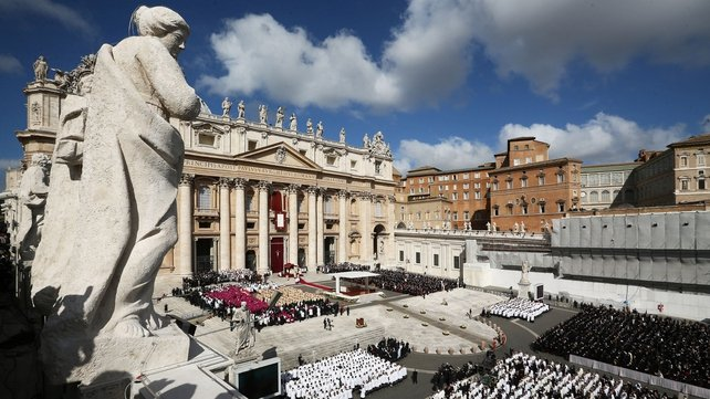 The crowd could be the biggest in Rome since the beatification of the late Pope John Paul II in 2011