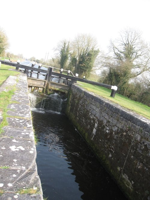 A Grand Canal lock