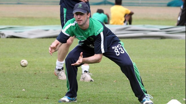 Alex Cusack claimed two wickets as Ireland opened with a win
