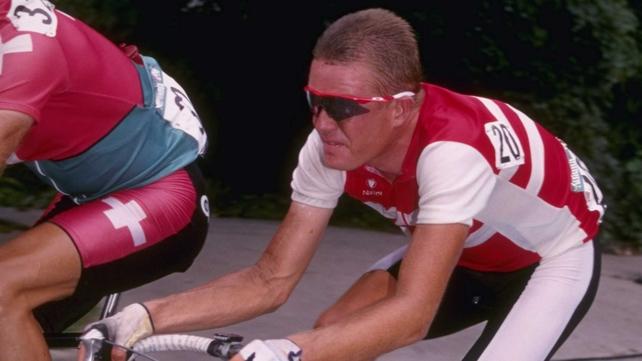 Rolf Sorensen won a silver medal in Atlanta