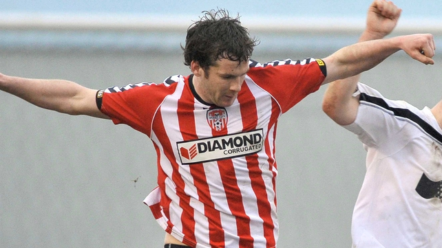 Ryan McBride scored after half an hour at the Brandywell