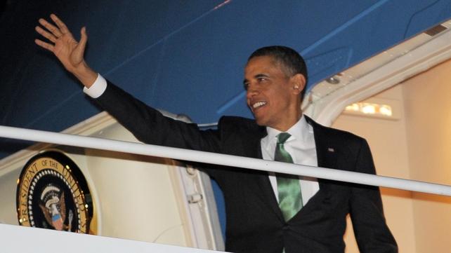 President Obama will arrive in Belfast on 17 June