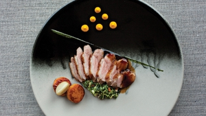 Neven Maguire's Breast of Thornhill Duck with Sweet Potato Fondants