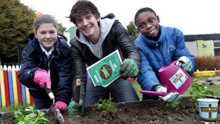Donal Skehan launches sow & grow campaign