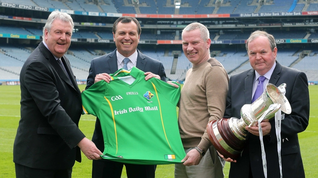 Seamus McCarthy, Paul Earley, Tony Scullion and Liam O'Neill pictured at Croke Park