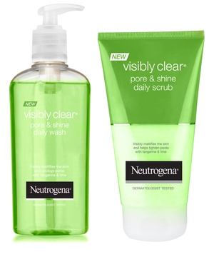 Neutrogena Visibly Clear Pore & Shine range, €5.58