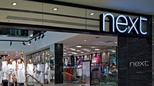 Next has 27 stores in Ireland.