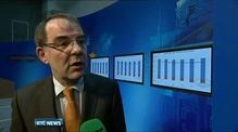 Irish economy grew by almost 1% last year