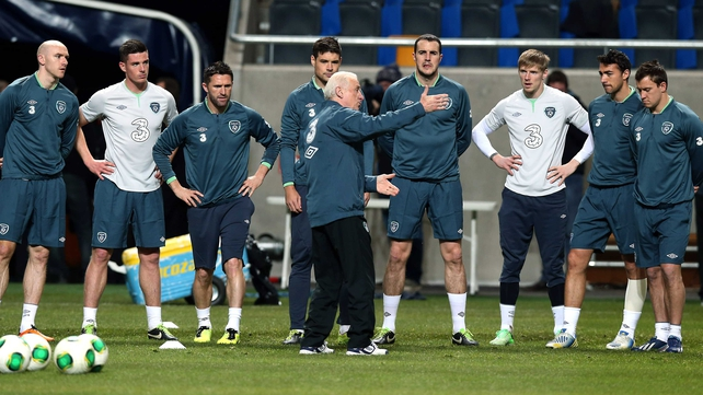 Giovanni Trapattoni is under pressure to get a result