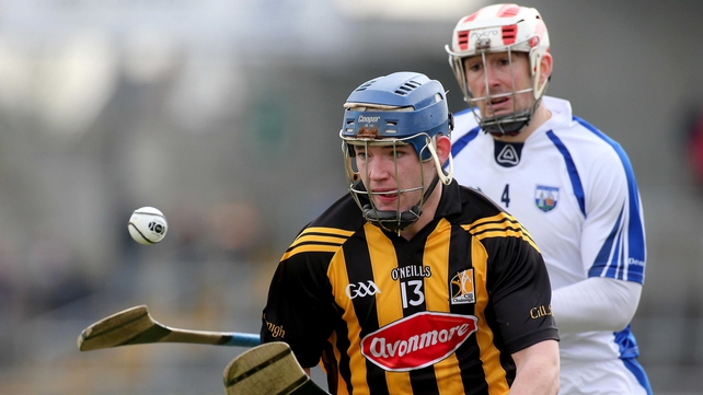 Ger Aylward aided Kilkenny's comeback against Waterford