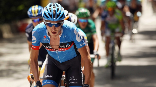 Dan Martin now leads the Volta a Catalunya by 14 seconds