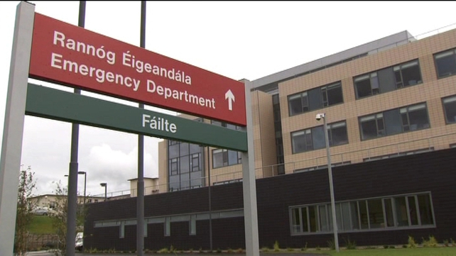 The interim emergency department has been opened on a phased basis